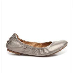 Lucky Brand Echo Metallic Bronze Ballet Flats
